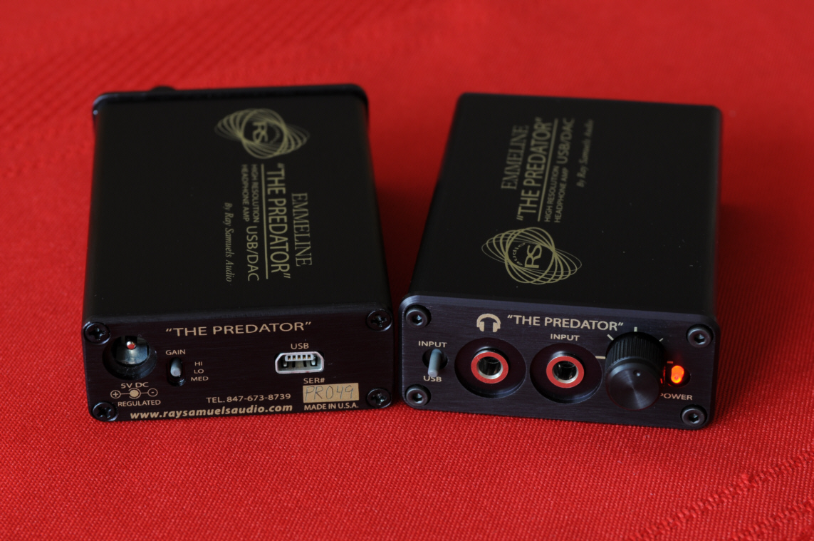 Emmeline Quot The Predator Quot Portable Usb Dac Amp Ray Samuels
